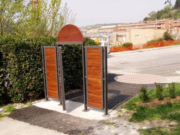 Doghe In Legno Per Cancelli : Cancello in ferro e legno asg s r l