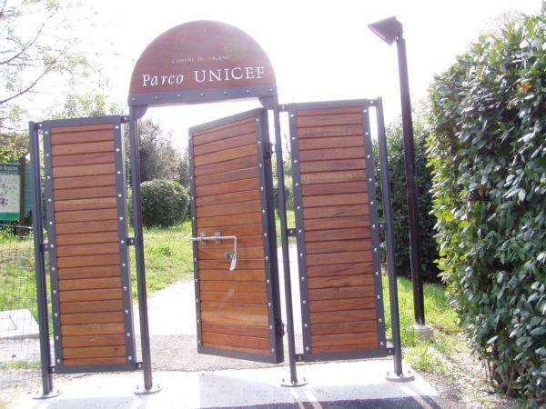 Cancello in ferro e legno asg s r l for Cancelletto per cani usato